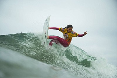 Photo from a previous USA Surfing competition in Huntingt...