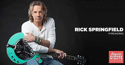 Promotional photo of Rick Springfield. Courtesy of the Sa...