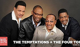 Promotional photo for The Temptations and The Four Top in...