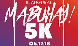 Promo graphic for Mabuhay 5K