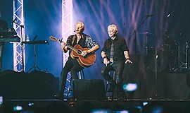 Photo of the musicians performing. Courtesy of Air Supply.
