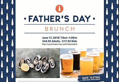 Promotional graphic for the Father's Day brunch. Courtesy...