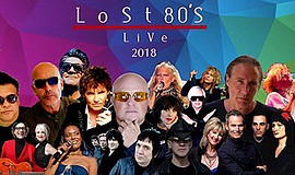Promotional poster for the concert. Courtesy of Lost 80s ...