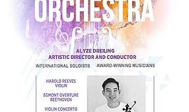 Promo graphic for Summer Festival Orchestra Performances
