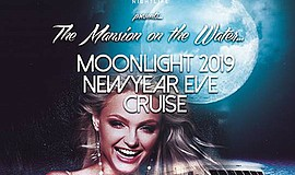 Promotional poster for the New Year's Eve cruise. Courtes...