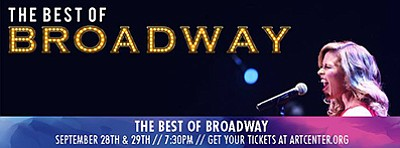 "Promotional poster for ""The Best of Broadway."" Courtesy o..."