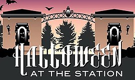 Promo graphic for Halloween At The Station