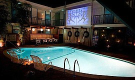 Promo graphic for Dive-In Movies At The Pearl Hotel