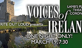 Promo graphic for Voices Of Ireland