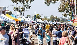Photo from last year's holiday street fair. Courtesy of t...