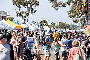 Photo from last year's holiday street fair. Courtesy of the Encinitas 101 Mai...