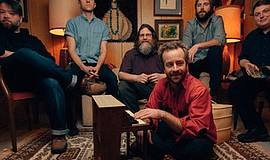 Promo graphic for Trampled By Turtles