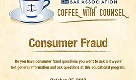 Promo graphic for Coffee With Counsel Family Law Program