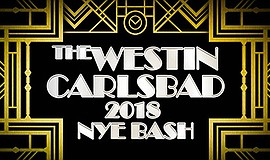 Promotional graphic for the New Year's Eve Speakeasy. Cou...
