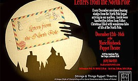 "Promotional poster for ""Letters from the North Pole."" Cou..."