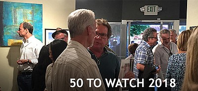 A promotional poster for 50 To Watch, courtesy of The Stu...