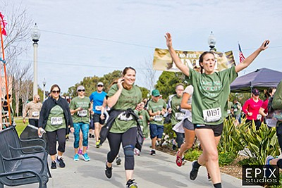 Photo from last year's Camo for a Cause 5K. Courtesy of E...
