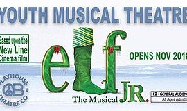 "Promotional poster for ""Elf Jr. The Musical."" Courtesy of..."