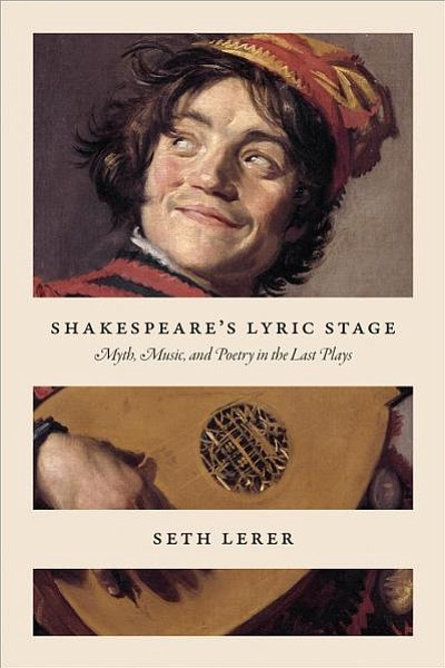 """Photo of the cover of """"Shakespeare's Lyric Stage: Myth, M..."""