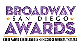 Promo graphic for The Broadway San Diego Awards
