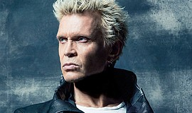 Promo graphic for Billy Idol At Harrah's Resort Souther...