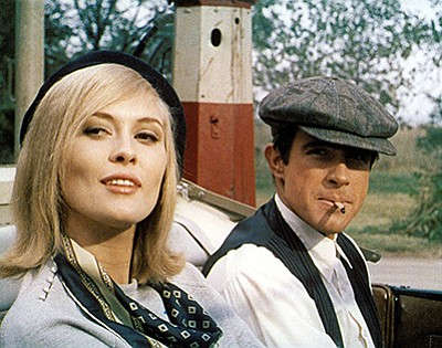 "Film still from ""Bonnie and Clyde."" Courtesy of Warner Br..."