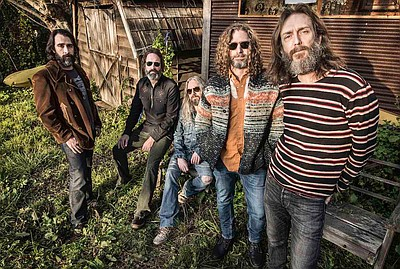 Promotional photo of Chris Robinson Brotherhood. Courtesy...