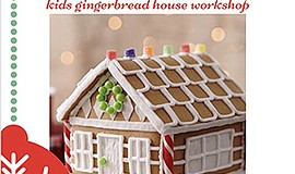 Promotional flyer for the Gingerbread House workshop at C...