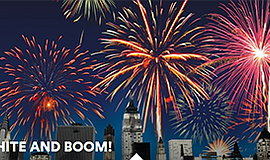 Promotional photo for Red, White & Boom. Courtesy of Lego...