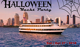 Promotional photo for the Halloween Yacht Party. Courtesy...