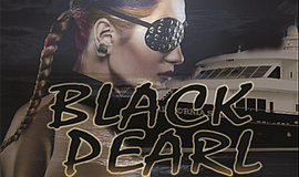 Promotional graphic for the Black Pearl midnight cruise. ...