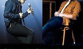 Promotional photo of Gavin Degraw and Phillip Phillips. C...