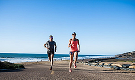 Promo graphic for Lululemon Run Club