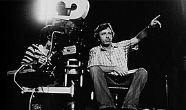 Photo of Larry Cohen directing. Courtesy of Museum of Pho...