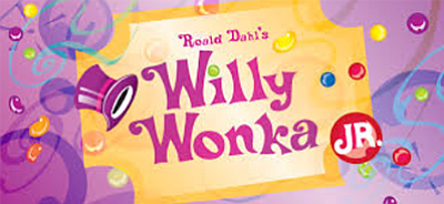 "Promotional graphic for ""Willy Wonka Jr."" Courtesy of Cen..."