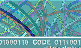 Promotional graphic for the coding camp. Courtesy of Outs...