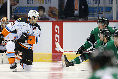 Photo from a previous Gulls vs. Stars game. Courtesy of t...