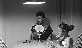 "Carrie Mae Weems, ""Woman and Daughter with Makeup"" from ""Kitchen ..."