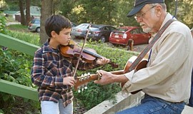 Promotional photo courtesy of Julian Family Fiddle Camp.