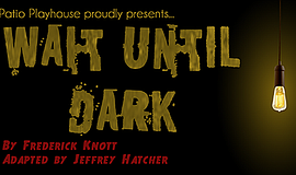 """A promotional poster for """"Wait Until Dark,"""" courtesy of P..."""