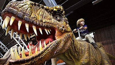 Promotional photo for Jurassic Tour.