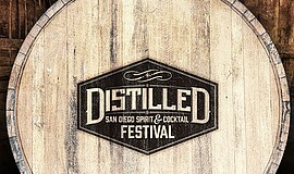 Promotional flyer for spirits and cocktail festival. Cour...