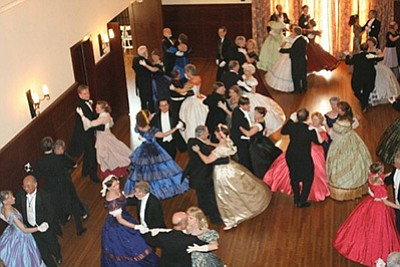 Photo from a previous dance event. Courtesy of the San Di...