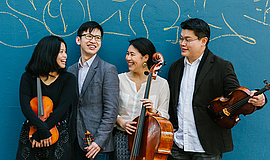 Promotional photo of the Formosa Quartet, courtesy of the...