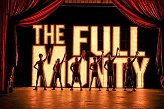 "A promotional photo for ""The Full Monty,"" courtesy of SDMT."