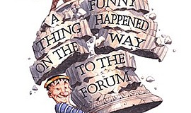 Promo graphic for 'A Funny Thing Happened On The Way To...
