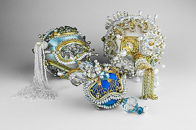 "Promotional photo of ornaments featured in ""Jewels of the..."