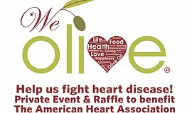 Promo graphic for American Heart Association Benefit