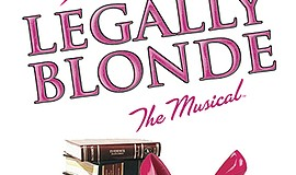 Promo graphic for Star Repertory Theatre's 'Legally Blo...
