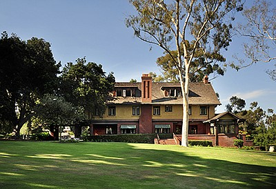 Exterior photo of the Marston House Museum. Courtesy of S...